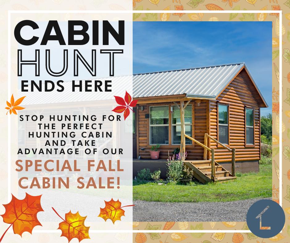 September 2021 Cabin Promo FB